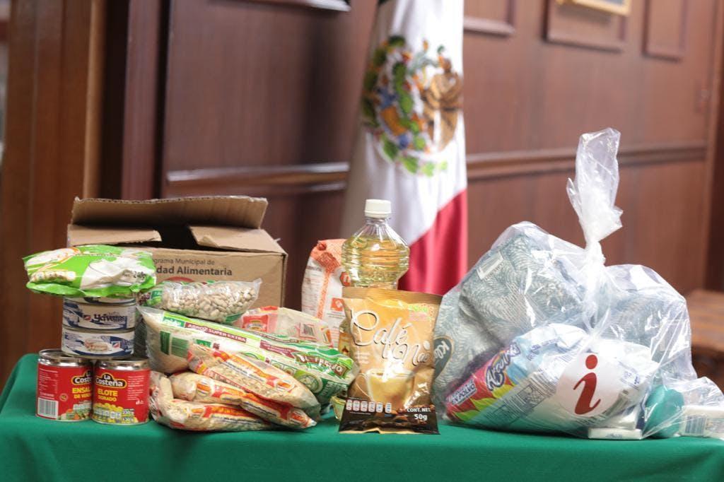 Despensas del gobierno de Ciudad Juárez, encabezado por Armando Cabada