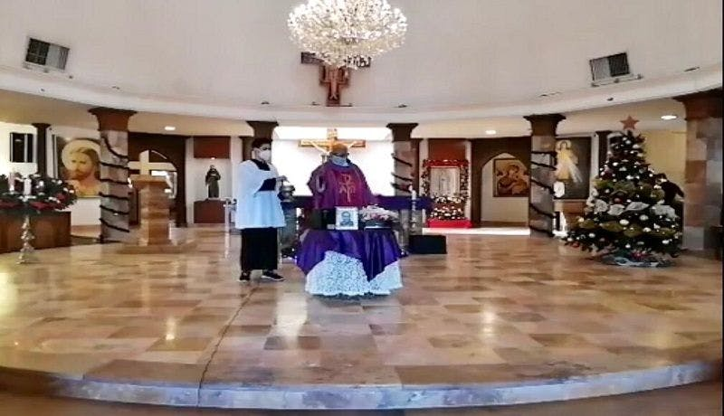 Alan Aviña, misa, Hermosillo, Sonora,