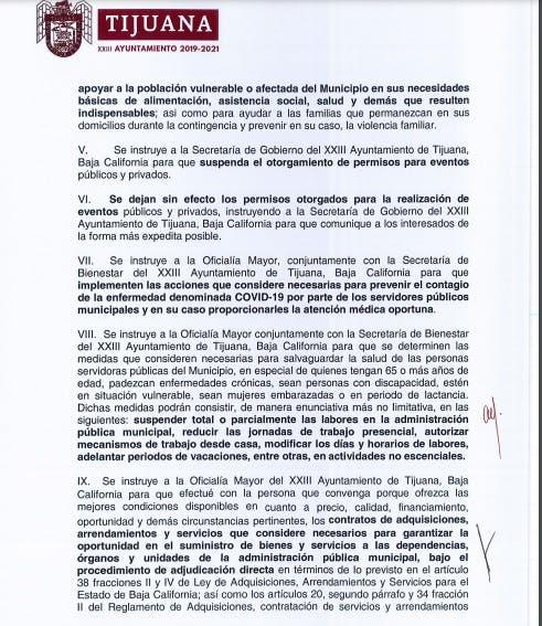 Adjudicaciones directas gobierno de Tijuana.
