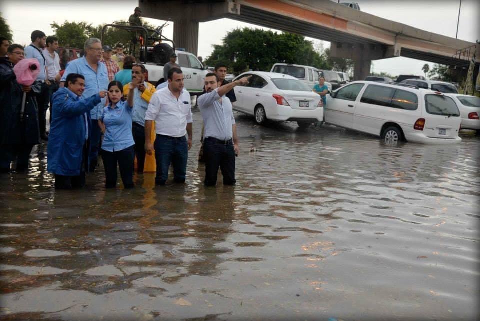 Inundaciones en Matamoros, Norma Leticia Salazar.