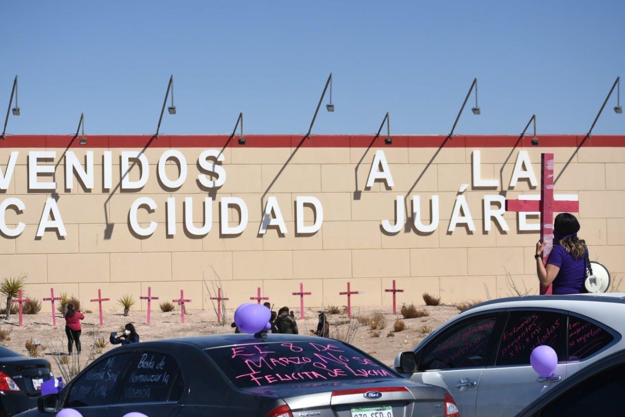 Caravana Juárez, mujeres, ciolencia, impunidad