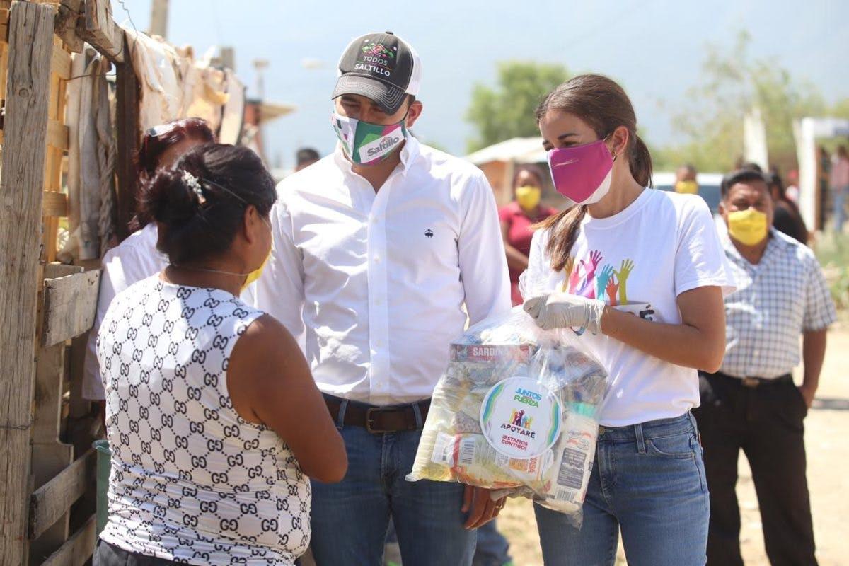 """Iniciativa ciudadana """"Apoyaré"""", de la esposa del alcalde Paola Rodríguez."""