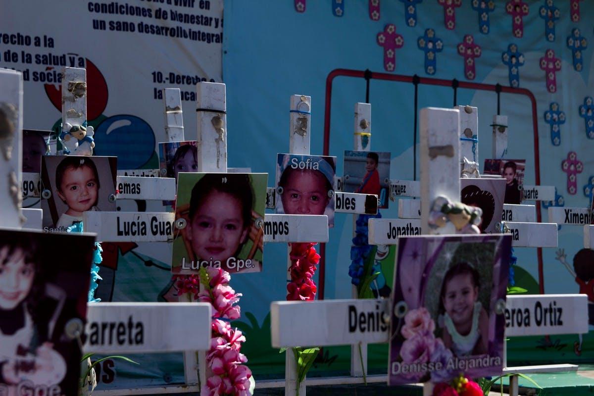 Un total de 49 niñas y niños murieron en el incendio de la Guardería ABC el 5 de junio de 2009.