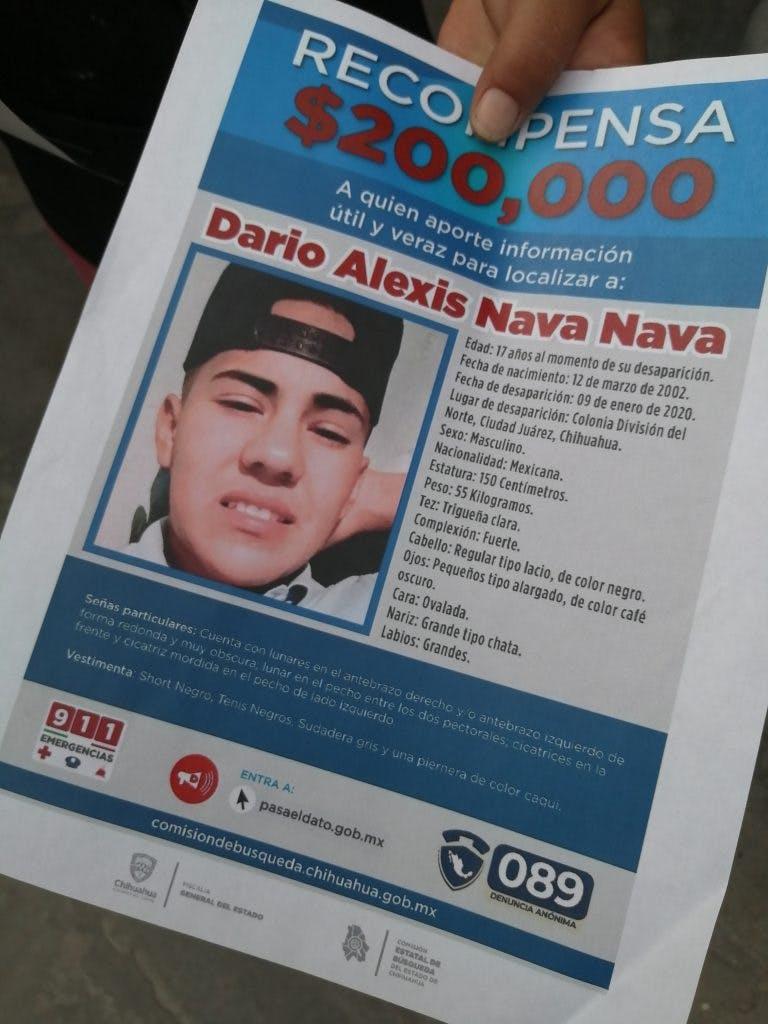 Desaparecidos en Ciudad Juarez.