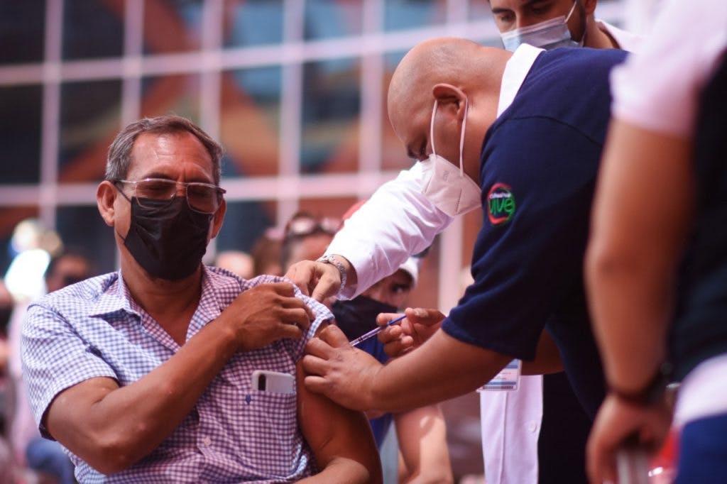 Aplicación de la Vacuna en Ciudad Juárez.