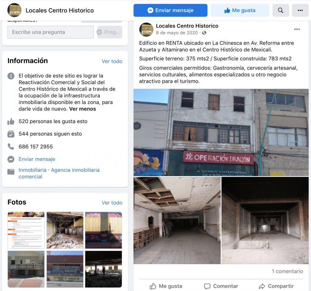 """Sitio inmobiliario administrado por Fernando Félix, """"El Primo""""."""