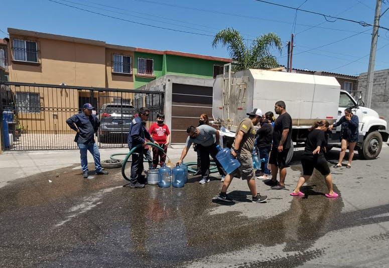 Tijuana y Ensenada, falta de agua.