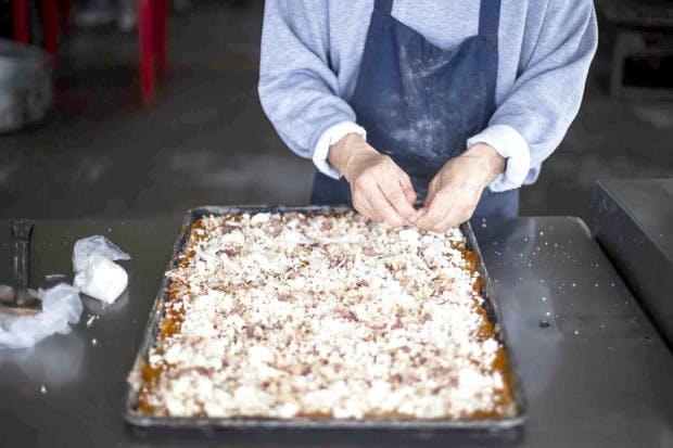 Comida para reos en el penal El Hongo, BC