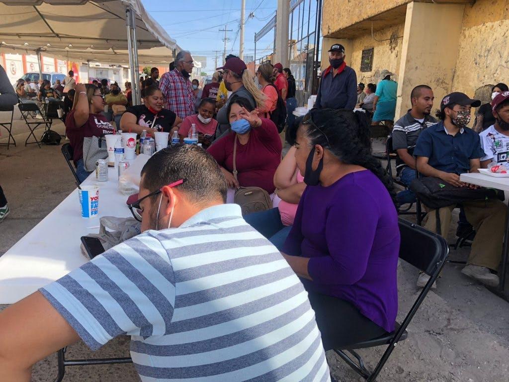 Rebelión en Morena por elección en Juárez.