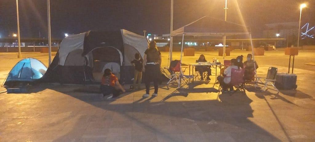 Policías de Juarez protestan.