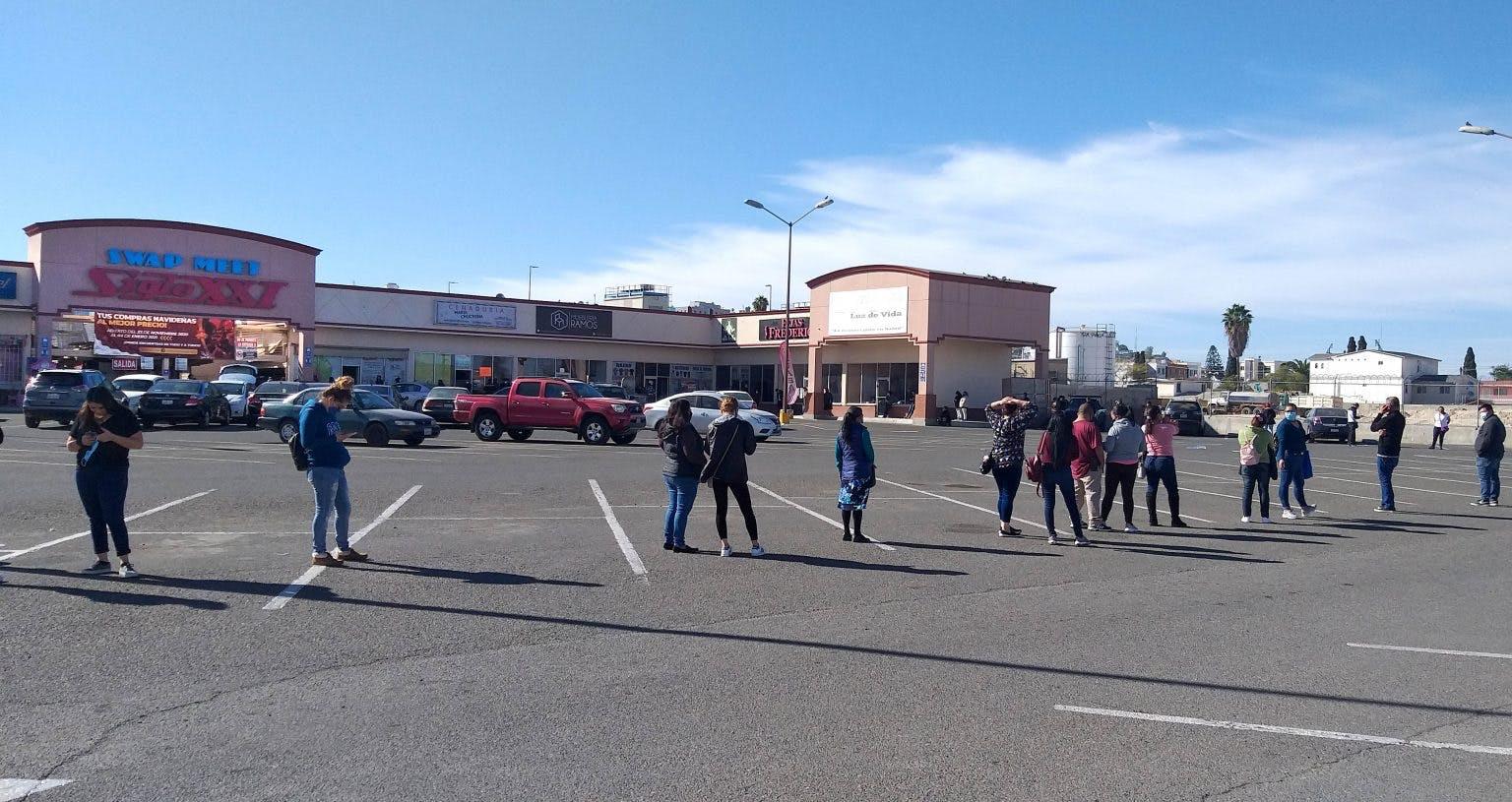 Tijuana, Baja California, movilidad, supermercados, plazas, covid-19