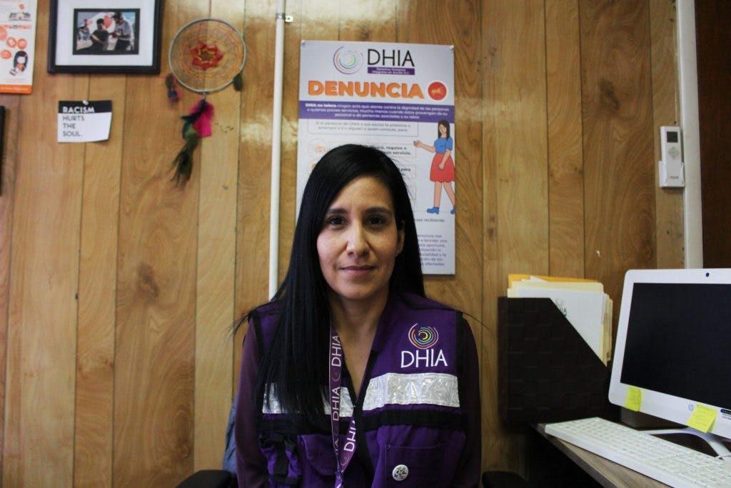 Blanca Navarreta, directora de DHIA.