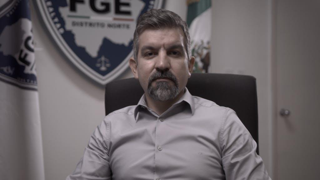 Jorge armando Nava, fiscal de Distrito Zona Norte de Ciuada Juarez.