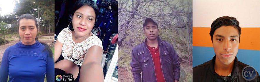 Víctimas de masacre de Camargo.