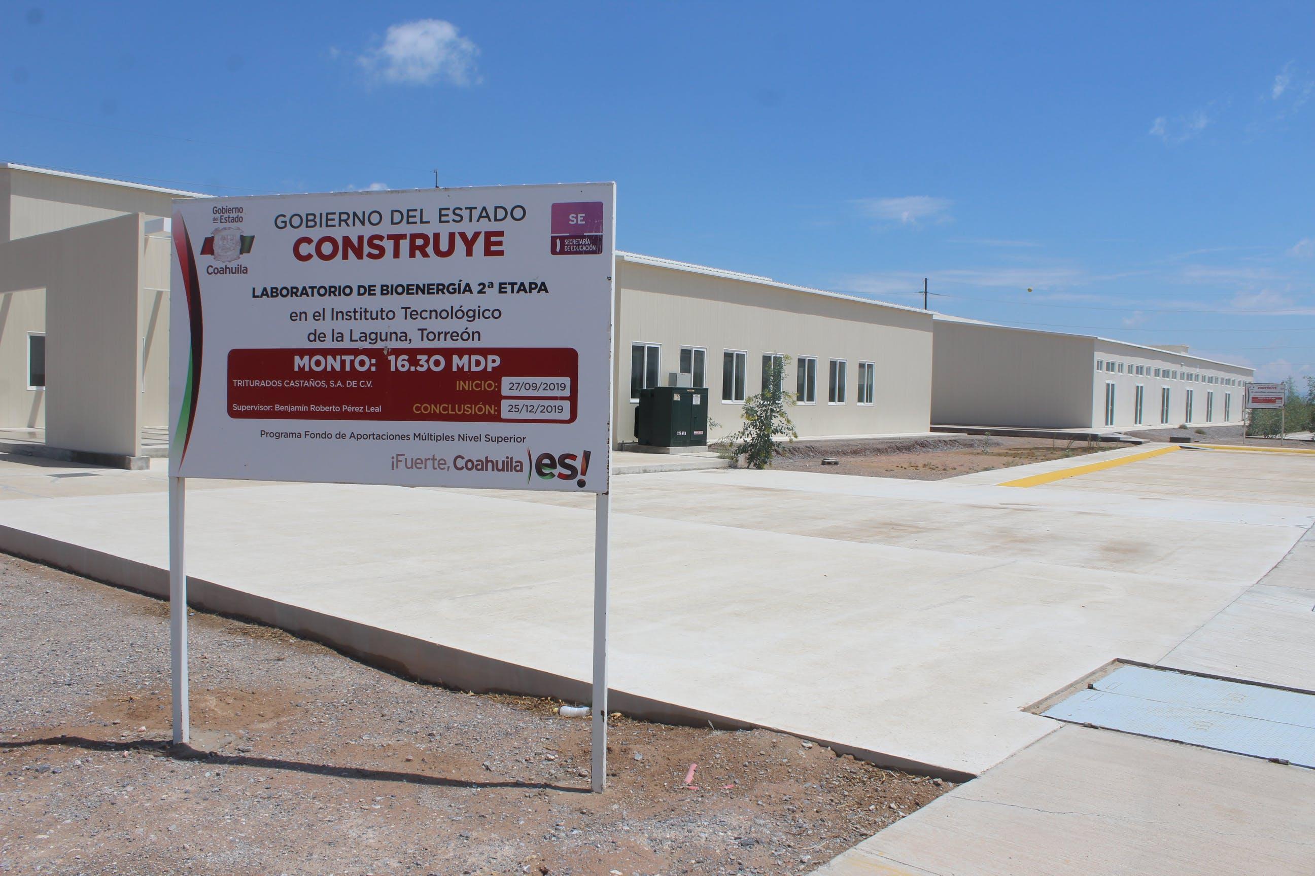 Laboratorios de la UNidad Especializada de Energías Ronovables.