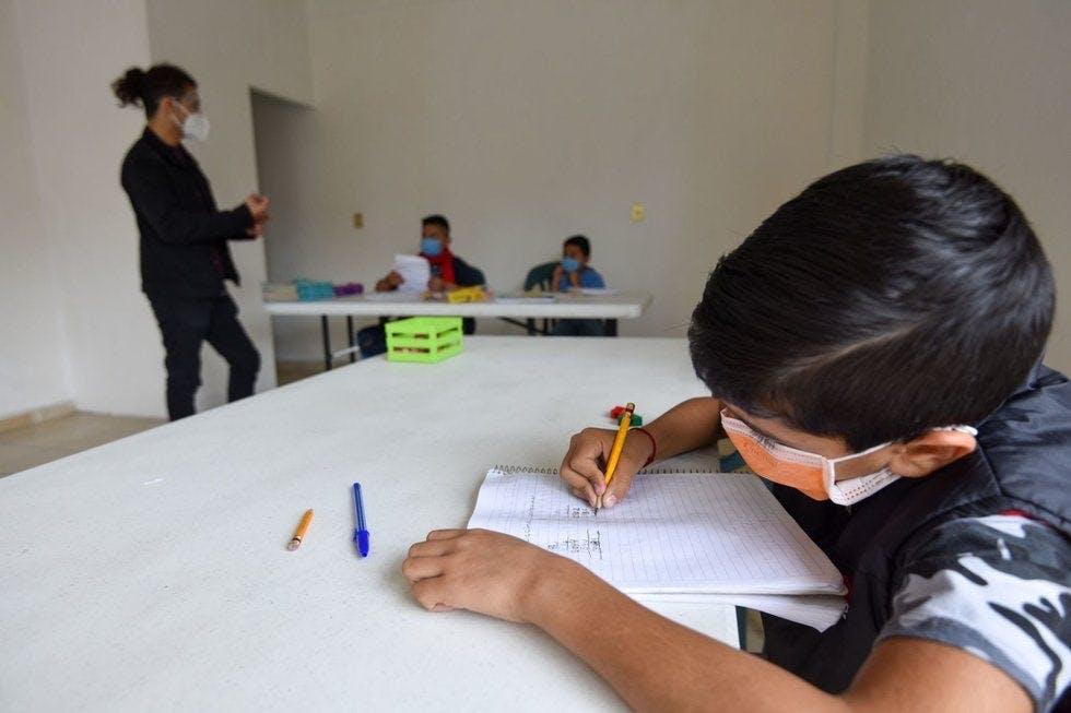 Alistan regreso a clases presenciales en Coahuila.