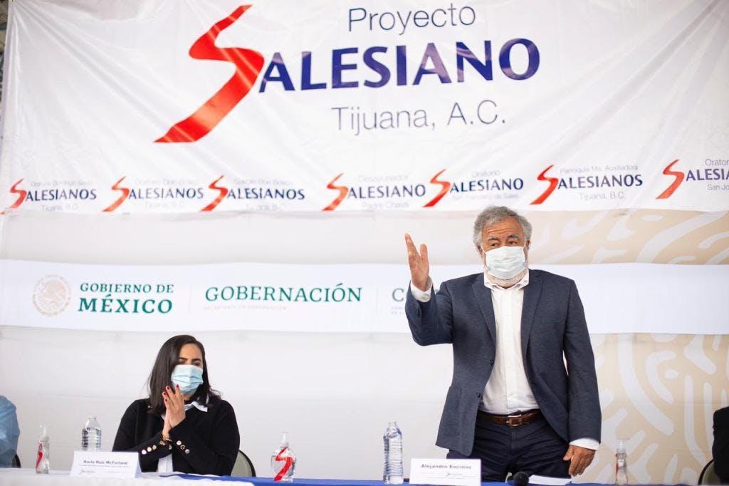 Alejandro Encinas, subsecretario de Derechos Humanos, Población y Migración