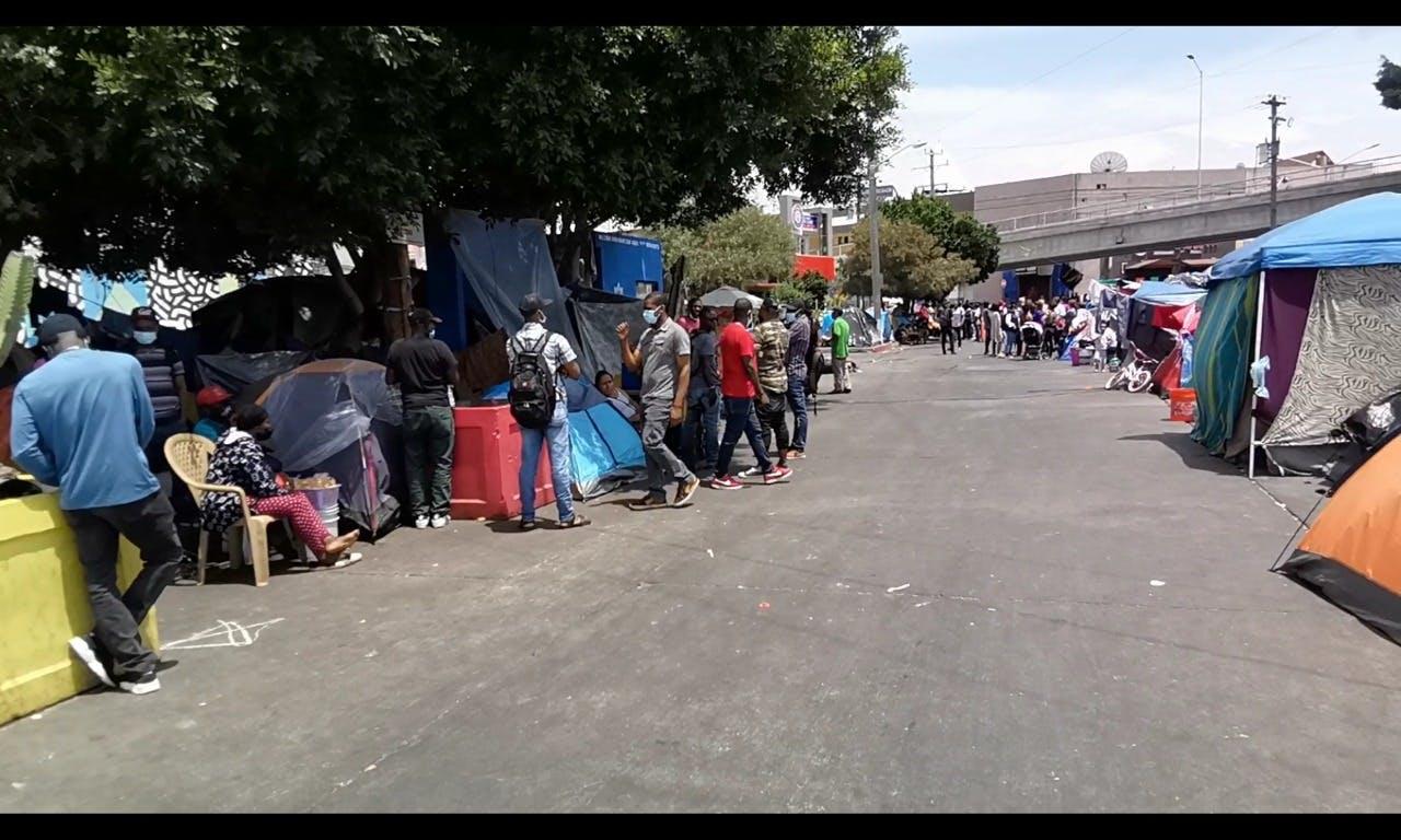 Migrates en Tijuana.