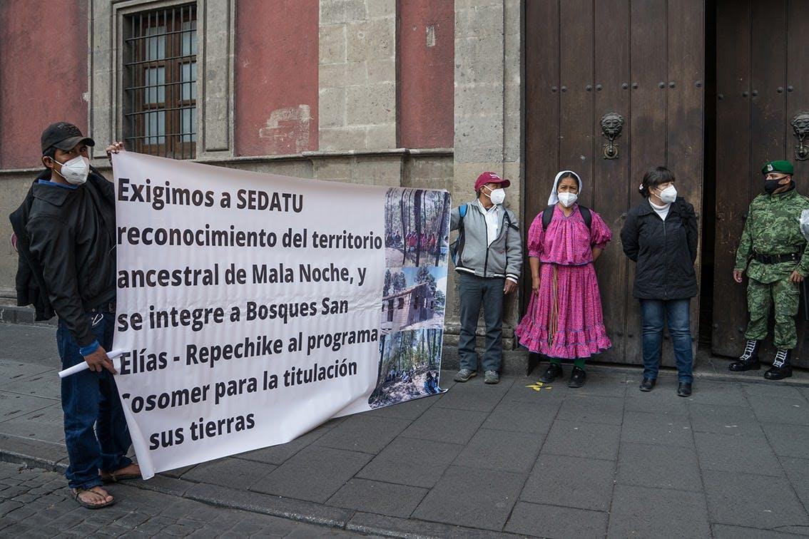 raramuri, Sedatu, CDMX, Palacio Nacional, San Elías Repechique