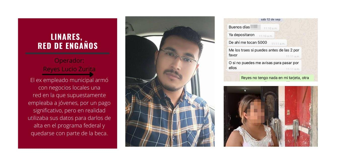 Linares, fraude, el norte, border hub