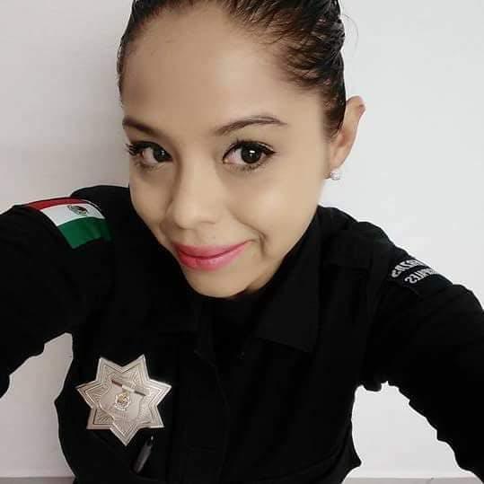 Bárbara Selene Mondragon, policía de Jua´rez.