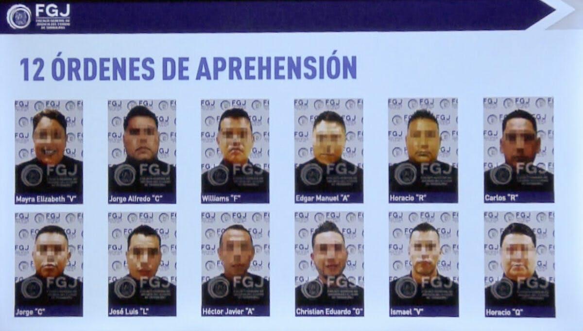 Policías involucrados en la masacre de Camargo, Tamaulipas.