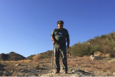 Sebastián Martínez al rescate del Cerro Johnson.