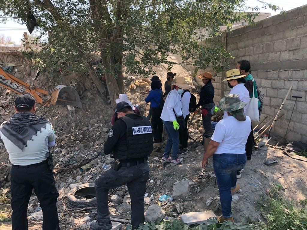 Buscan restos humanos en Ciudad Juarez.