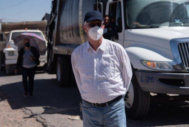 Ricardo Martínez, director de servicios publicos de Chihuahua
