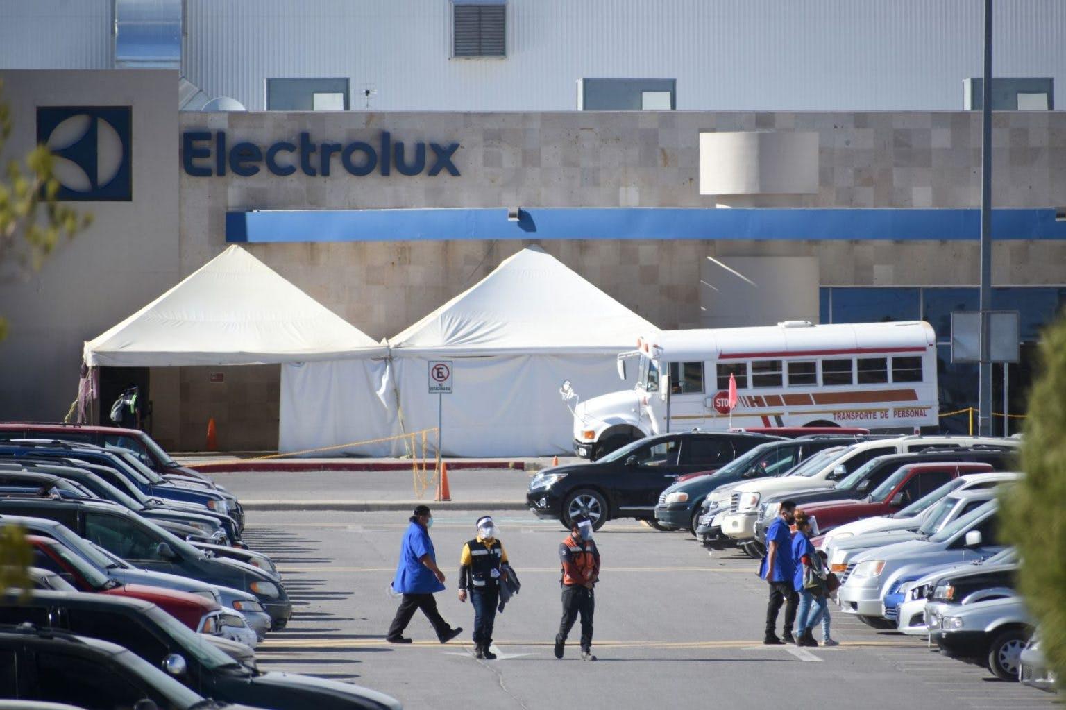 planta Electroluz en Ciudad Juárez