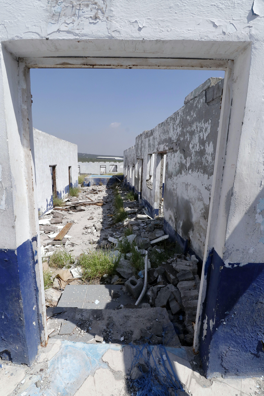 Cuartos donde las mujeres fueron abusadas en Castaños, Coahuila.