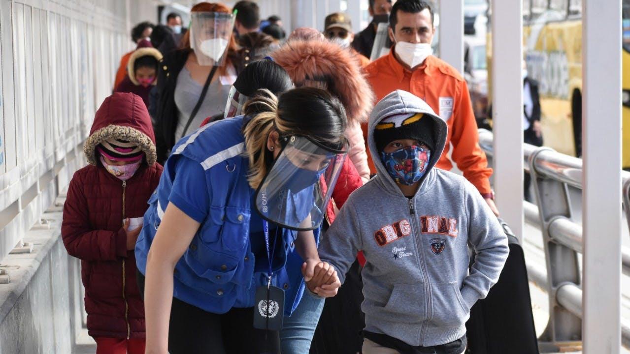 Migrantes entran a EU por Ciuad Juárez. Programa MPP.