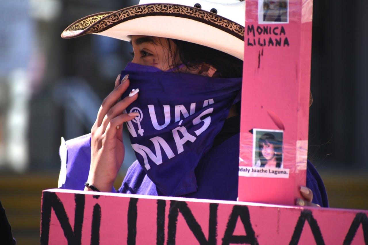 Mujeres, violencia, ciudad Juárez, caravana, protesta impunidad
