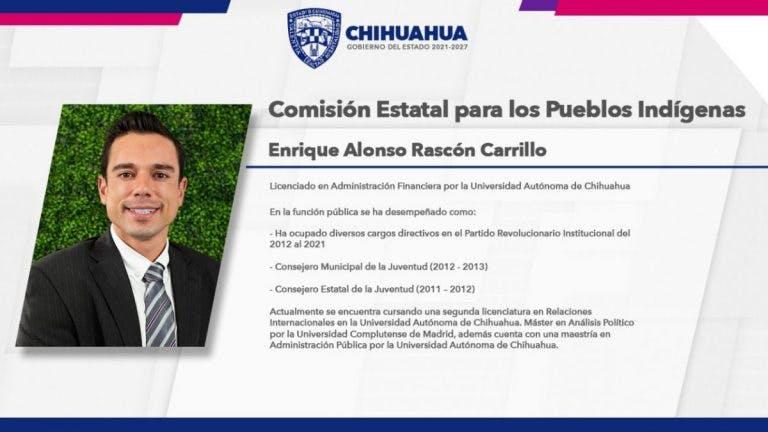 Anrique Alonso Rascón Carrillo.