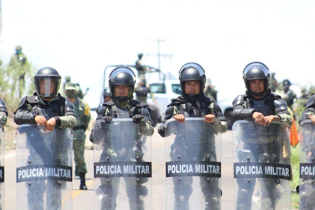 Guardia Nacional, el conflicto por el agua.