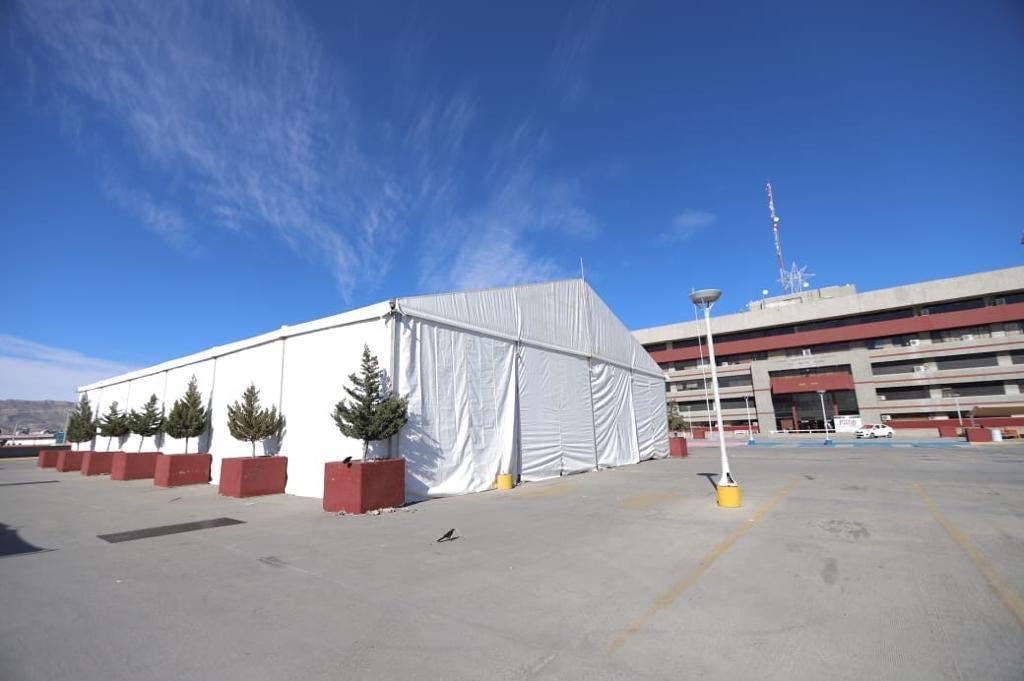 Hospital Movil Covid 19, Ciudad Juarez