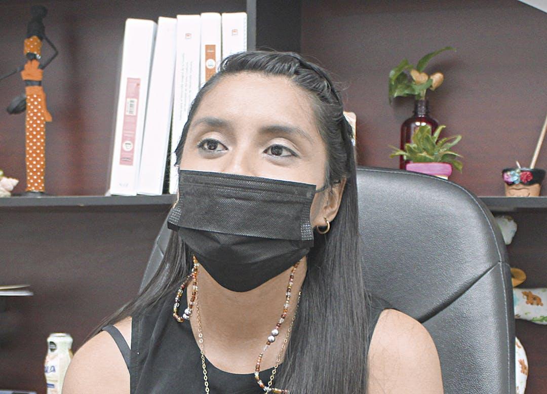 Sinahí Ferrer, trabajadora social.