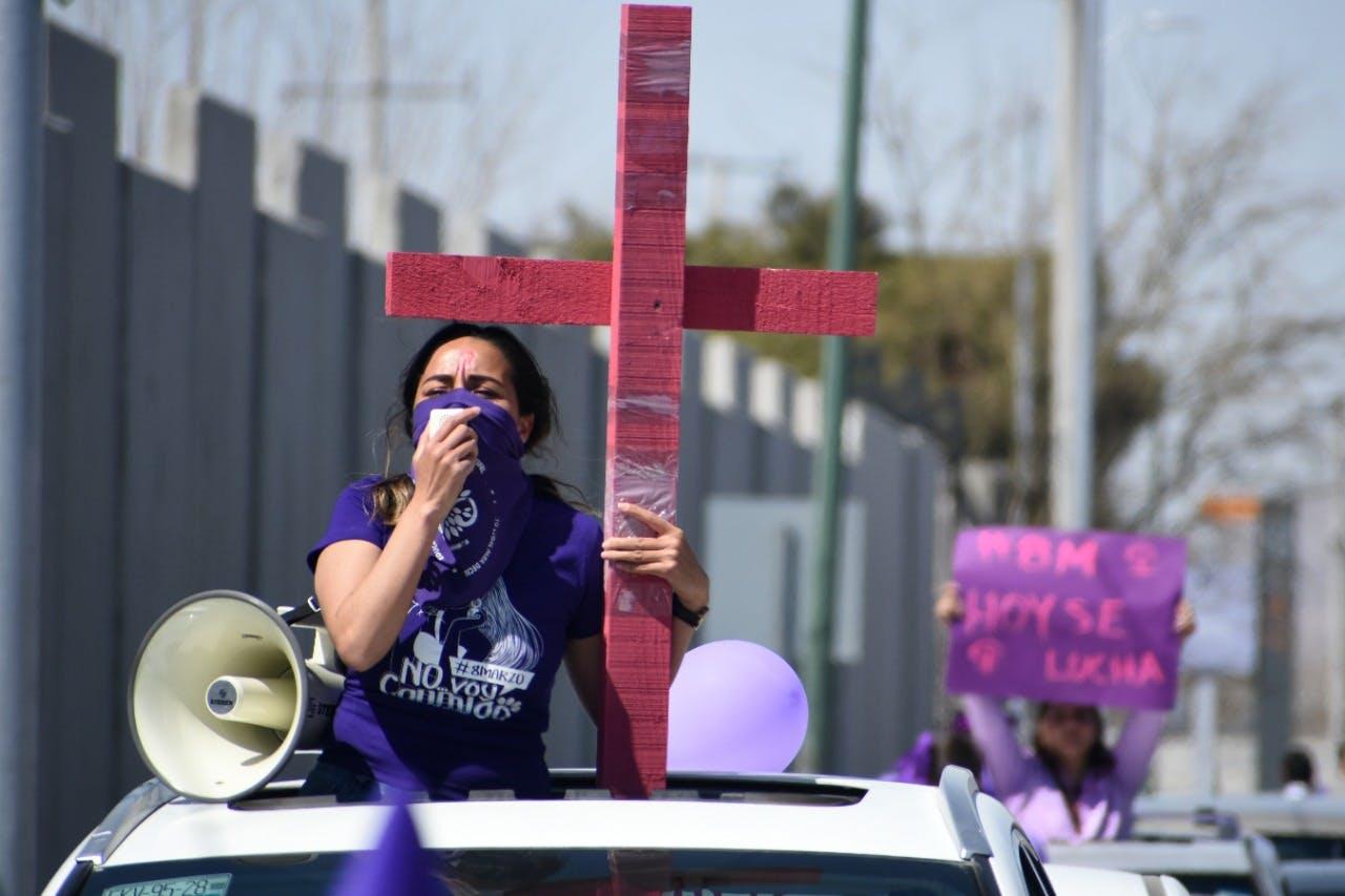 Caravana ciuad juarez contra la violencia contra las mujeres