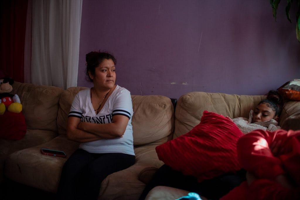 Familias mexicanas en Nueva York.