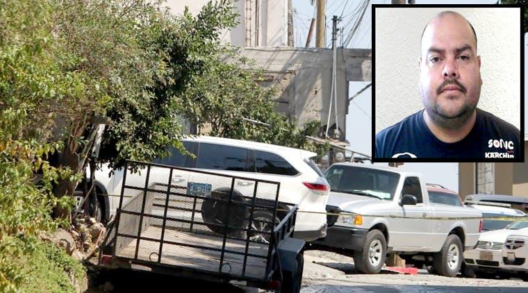Rogoberto Merás, policía de Tijuana asesinado.