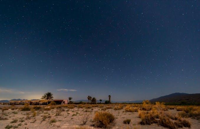 Valle de Cutrpciénegas de noche.