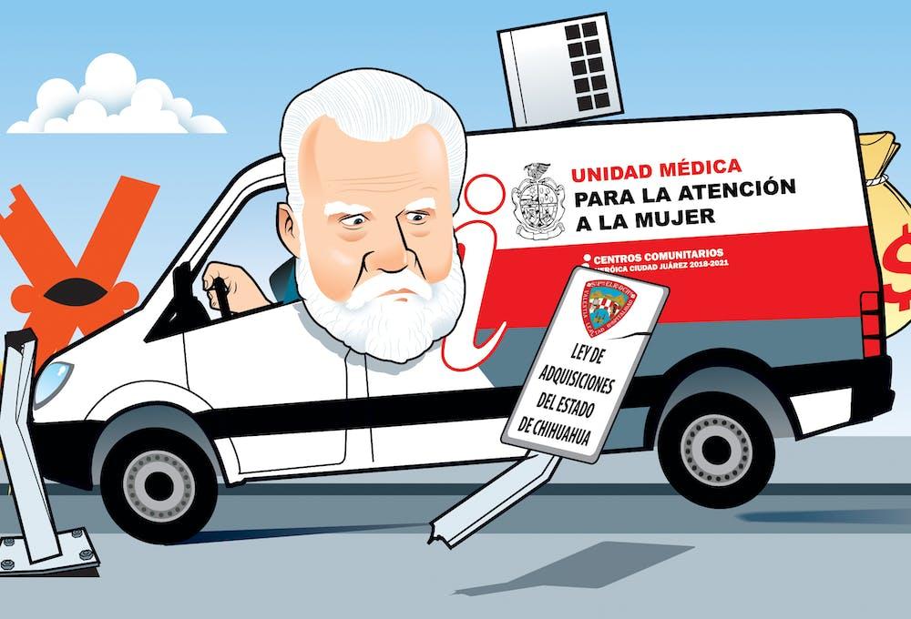 Clinicas móviles en Ciudad Juarez.