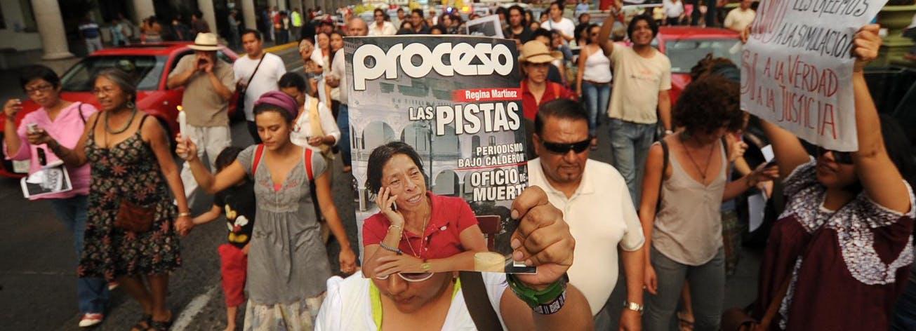 Regina Martínez, Veracruz, asesinato, crimen organizado, Los Zetas