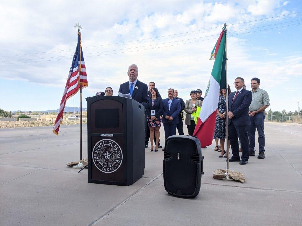 Juez del Condado de El Paso Rocardo Samaniego.