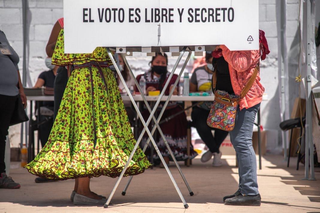 Elecciones en Chihuahua. Paeticipación indígena.
