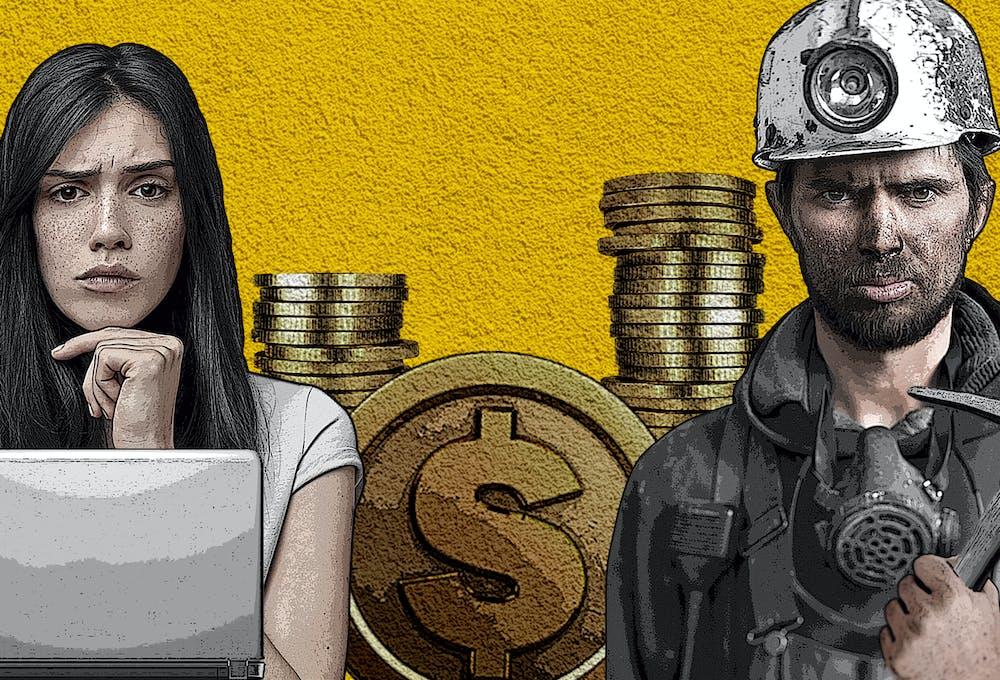 grafica que representa la diferencia salarial a favor de los hombres en perjuicio de las mujeres