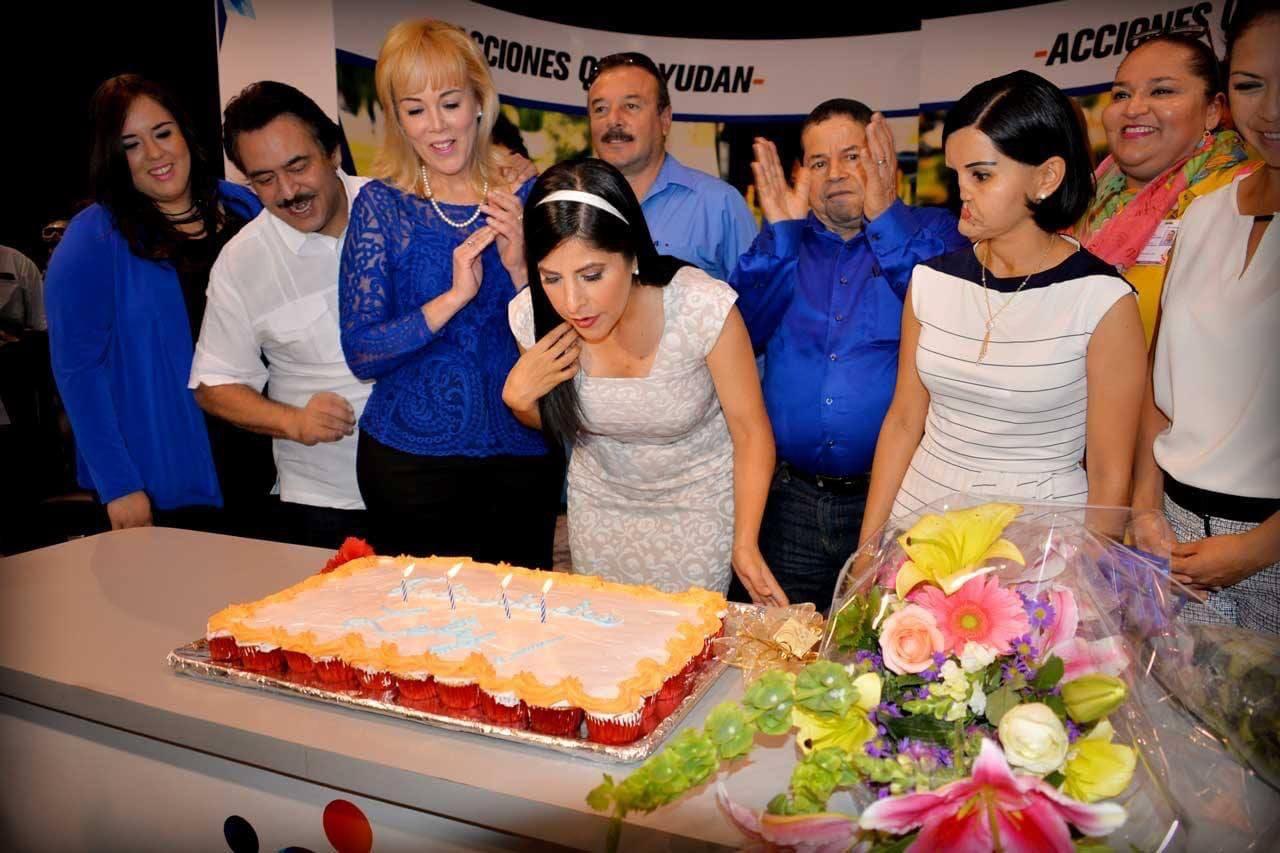 Cumpleaños Norma Leticia Salazar, Matamoros.