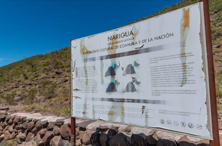 Narigua, zona arqueológica de Coahuila en el olvido