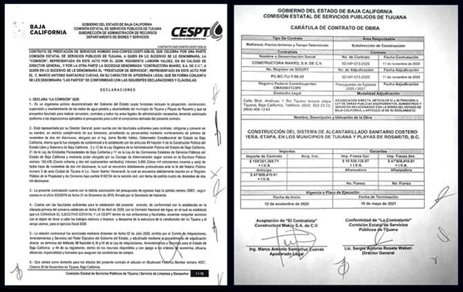 Corrupción de Bonilla contratos millonarios.