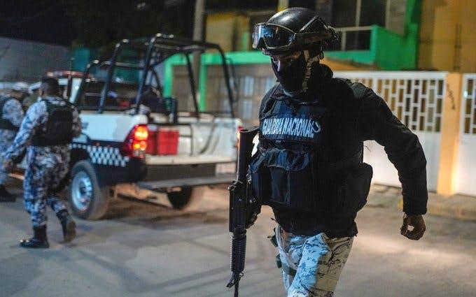 Guardia Nacional en Reynosa.